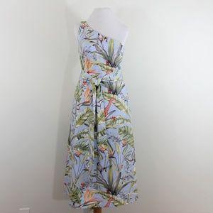 New Ann Taylor One Shoulder Sleeveless Dress 6 S M